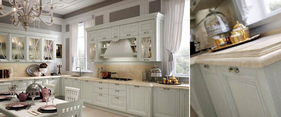 Итальянская кухня LUBE модель PANTHEON