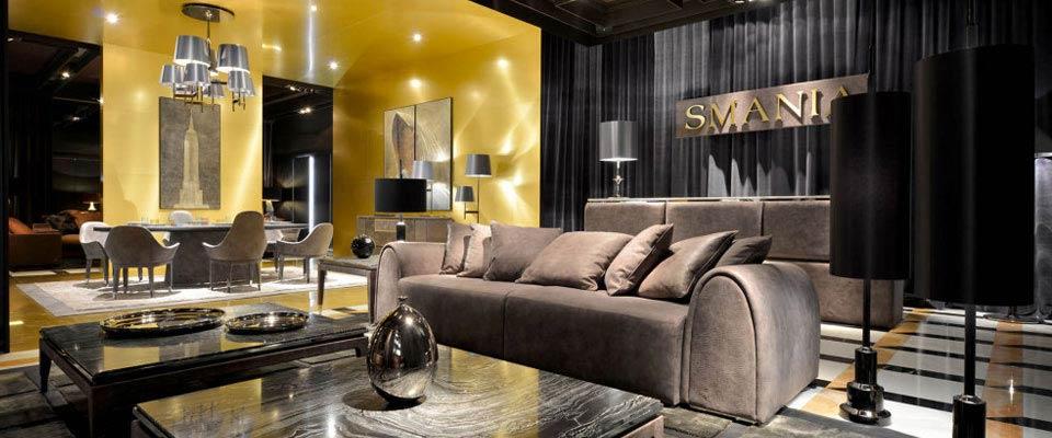 Smania decoration for Giovannetti arredamenti