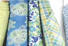 Новинки — акварельная коллекция декоративных тканей Greenhouse Gallery бренда GREENHOUSE FABRICS 2014